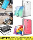 Shockproof Case For Galaxy Tab 4 8.0 SUPCASE PINK Cover Screen Protector Shell