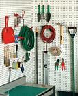 30 PIECE GARAGE SHED PANTRY LAUNDRY ROOM HOOK SET ORGANIZATION STORAGE