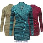 New Ladies Sexy Chunky Knitted Jumper Mini Dress Tunic Warm Womens Winter Tops