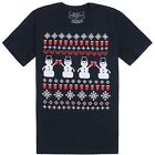 Riot Society Ugly Snowman Funny Christmas T-shirt S-XL