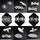 Shoe Charms Jibbit Luxury Bridal Rhinestone Diamante Shoe Clips Boots Decoration