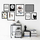 """Solid Wood Black Picture Frame Photo Wall Mount Home Decor A4/12""""/14""""/18""""/24"""""""