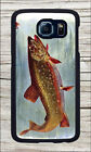 BROOK TROUT FROM AMERICAN FISHES CASE COVER FOR SAMSUNG GALAXY S6 -dbg5Z