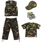 Kids Camouflage Lightweight Army Kit - Ages 3-13 Years