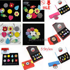 Anime Pocket Monster Pokemon Gym Badges 8pcs Pin Kanto League Brooch With box