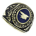 US Navy Seals Military Gold EP Mens Ring