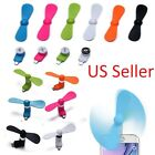 Portable Android Phone USB Cooler Micro Mini Fan For Smartphones Samsung LG