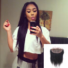 Ear to Ear Lace Frontal 13x4 Closure Bleached Knots Malaysian Remy Hair Straight