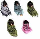 HEAVYDUTY TACTICAL MILITARY SHEMAGH MULTIPURPOSE SCARF MULTI COLOR & PATTERN
