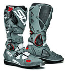 Sidi Crossfire 2 Off-Road MX motocross motor cross Boot - WHITE GREY BOOTS