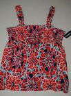 Girl's Old Navy Spitfire Floral Bubble Tank Top - M (8); L (10-12)