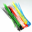 "Hot Sale 100pcs 8"" Cable Ties Heavy Duty Industrial Wire Zip Ties Wholesale lot"