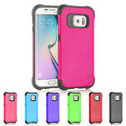 Samsung Galaxy S6 Edge Case  Shock Proof Slim Drop Protection Hybrid Cover Cases
