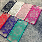 Charming Hot 9 Colors Mandala Flower Case Cover For iPhone 6s 5s 6 6s Plus
