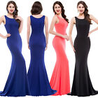 New Women Sexy Mermaid Long Evening Ball Gown Formal Prom Party Bridesmaid Dress