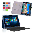 Exact Pro Business Leather Wallet Tablet Case for Microsoft Surface Pro 4