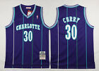 Charlotte Hornets #30 Dell Curry Jersey Adult Men's