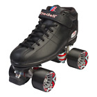 Riedell - BLACK R3 Speed roller skates -  PowerDyne Thrust - Sonar Cayman