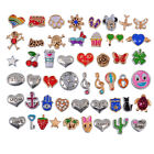 Floating Charms for Glass Living Memory lockets Necklace Bracelet Mix Lot Set