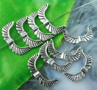 Angel Wing Metal Silver Tone Tibetan Beads Jelewry making Necklace bracelet