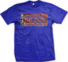 Staten Island New York Verrazano Bridge Borough NYC Ferry City NY Men's T-Shirt