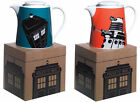 Dr Who / Doctor Who Stoneware Teapot Dalek / Tardis New + Official BBC In Box