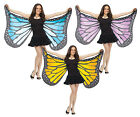 Soft Butterfly Wings Adult Costume Accessory