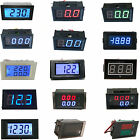 AC/DC Digit LED Panel Meter Volt / Current Meter Voltmeter & AmmeterCombo Gauge