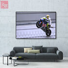 Canvas print wall art big poster Motorcycle Superbike Valentino Rossi racing vv