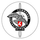 French Commando Stickers - Commando School 4 - Various Sizes Available - 0158