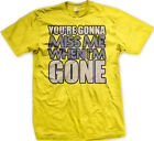 50 shades of grey when is the movie coming out - You're Gonna Miss Me When I'm Gone Movie Song Country Title Over Men's T-Shirt
