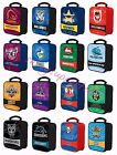 NRL Insulated Lunch Cooler Bag All Teams Available Kids BNIP