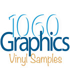 (Reflective) Vinyl Samples for 1060 Graphics Custom Lettering & Decals.