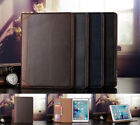 Folio Classic Wallet Leather Stand Smart Auto Sleep/Wake Case Cover For iPad