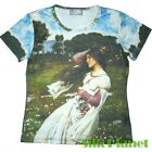 JW WATERHOUSE Windflowers Wind T SHIRT NEO CLASSIC FINE ART PRINT PAINTING NEW