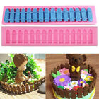 Silicone Butterfly Lace Fondant Cake Mould Baking Fence Grass Key Chocolate Mold