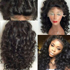 Loose Big Wave Remy Brazlian Remy Human Hair Women Lace Front/Full Lace Wigs
