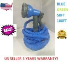 Expandable Flexible Magic Hose 50/100FT Water Pipe Spray Nozzle TV Deluxe garden cheap