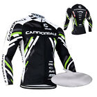 New Mens Long Sleeve Jerseys Ciclismo Cycling Clothing Thermal Fleece Cold Wear