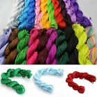 1Roll/27M Nylon Cord Thread Chinese Knot Macrame Bracelet String 1mm For DIY New