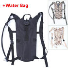 Outdoor 3L Hydration System Backpack Packs Military Pouch Water Bag Bladder
