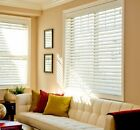 "2"" FAUXWOOD PREMIUM BLINDS 15"" WIDE  by 73"" to 84 "" in LENGTH $31.72 All Sizes"