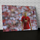 S574 Zlatan Ibrahimovic Man Utd Sport Canvas Wall Art Framed Picture Print