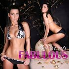 NEW SEXY WOMEN'S BIKINIS SWIMWEAR SWIMSUIT BEACHWEAR BLACK WHITE SIZE 10-12