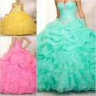 Stock Quinceanera Dresses for 15 years Formal Prom Party Evening Gowns Hot Sale