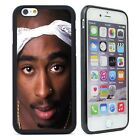 Tupac Shakur Silicone Case Cover for iPhone 4 4S 5 5S 5C 6 6S Plus Phone Case