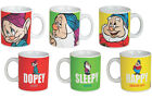 Mug Snow White & The Seven Dwarves Sleepy / Dopey / Happy Official Disney In Box