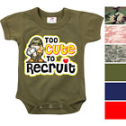 Camouflage Infant Bodysuit Toddler One-Piece Onesies Baby Suit