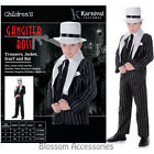CK858 Boys Gangster Boss 1920's Great Gatsby Fancy Dress Party Halloween Costume