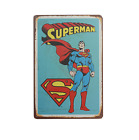 Superhero Marvel DC Reto Vintage ​Metal Sign Wall Deco Poster Free Shipping
